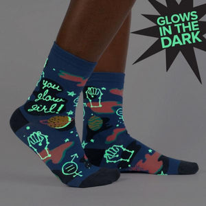WOMEN'S CREW- YOU GLOW GIRL