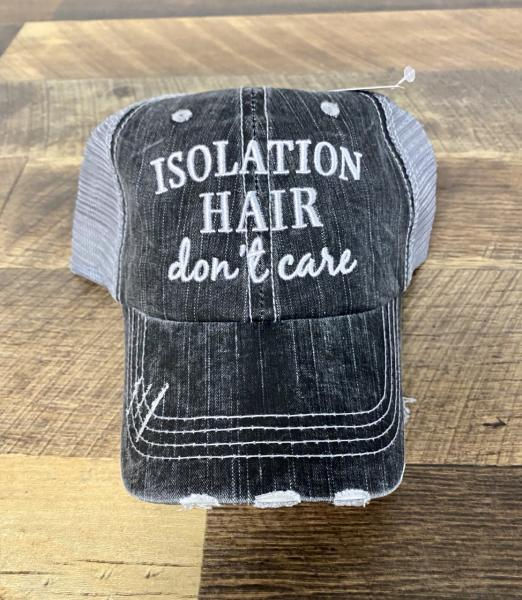 TRUCKER HAT-ISOLATION HAIR DON'T CARE