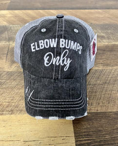 TRUCKER HAT-ELBOW BUMPS ONLY
