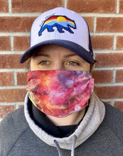 Load image into Gallery viewer, BAMBOO FACE MASK- TIE DYE