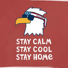 Load image into Gallery viewer, ADULT CRUSHER S/S- STAY CALM EAGLE