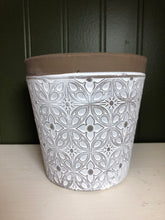 Load image into Gallery viewer, Patterned Flower Pot