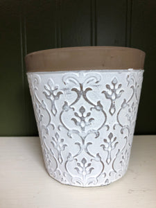 Patterned Flower Pot