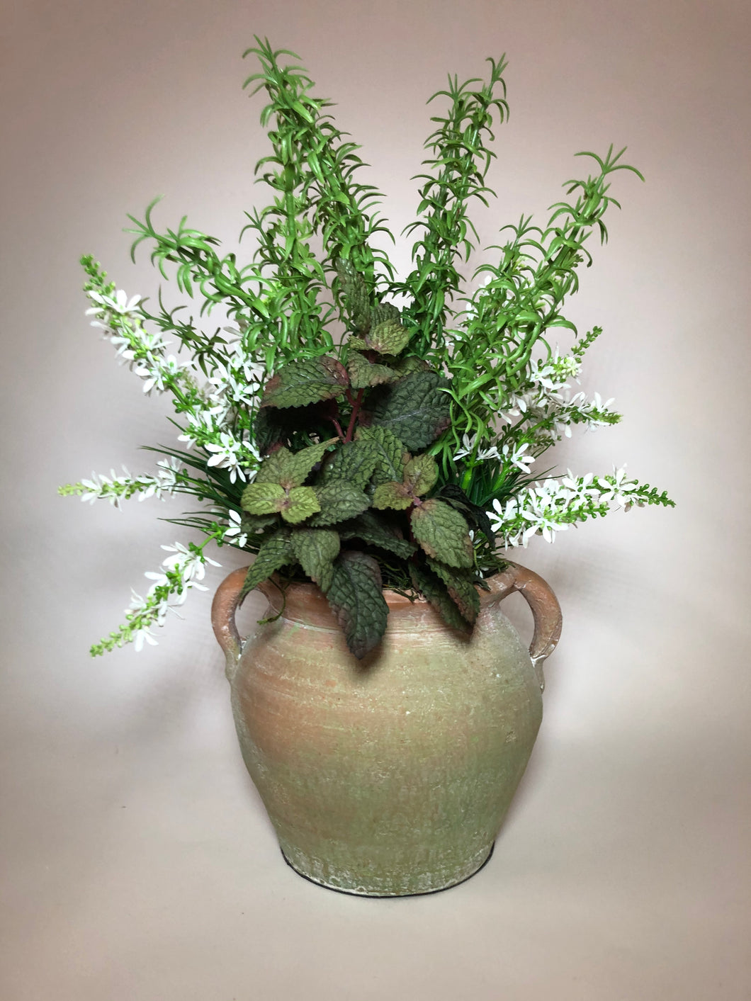 Garden Pot with Herbs