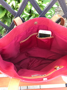 Faux-Leather Handbag (Available in 2 colors)