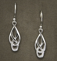 Kerlin Scroll Earrings