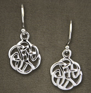 Celtic Scroll Earrings