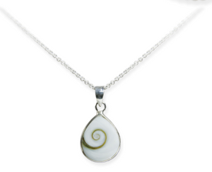 White Wave Necklace