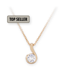 Load image into Gallery viewer, Falling Star Necklace (Gold or Silver)