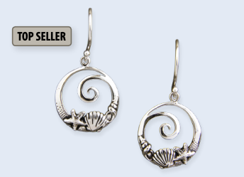 Coastal Wave Earrings
