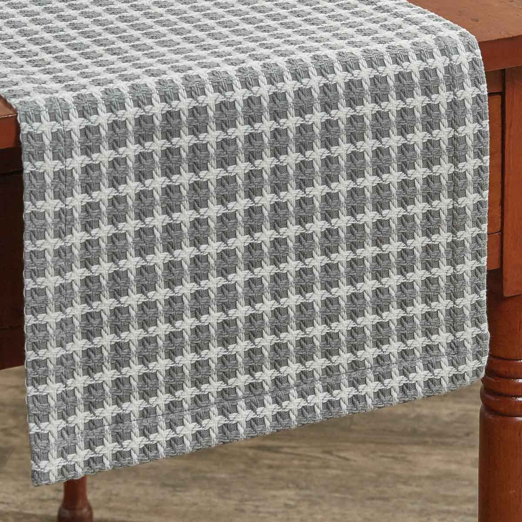 Crossings -Grey-Table Runner Available in Two Sizes