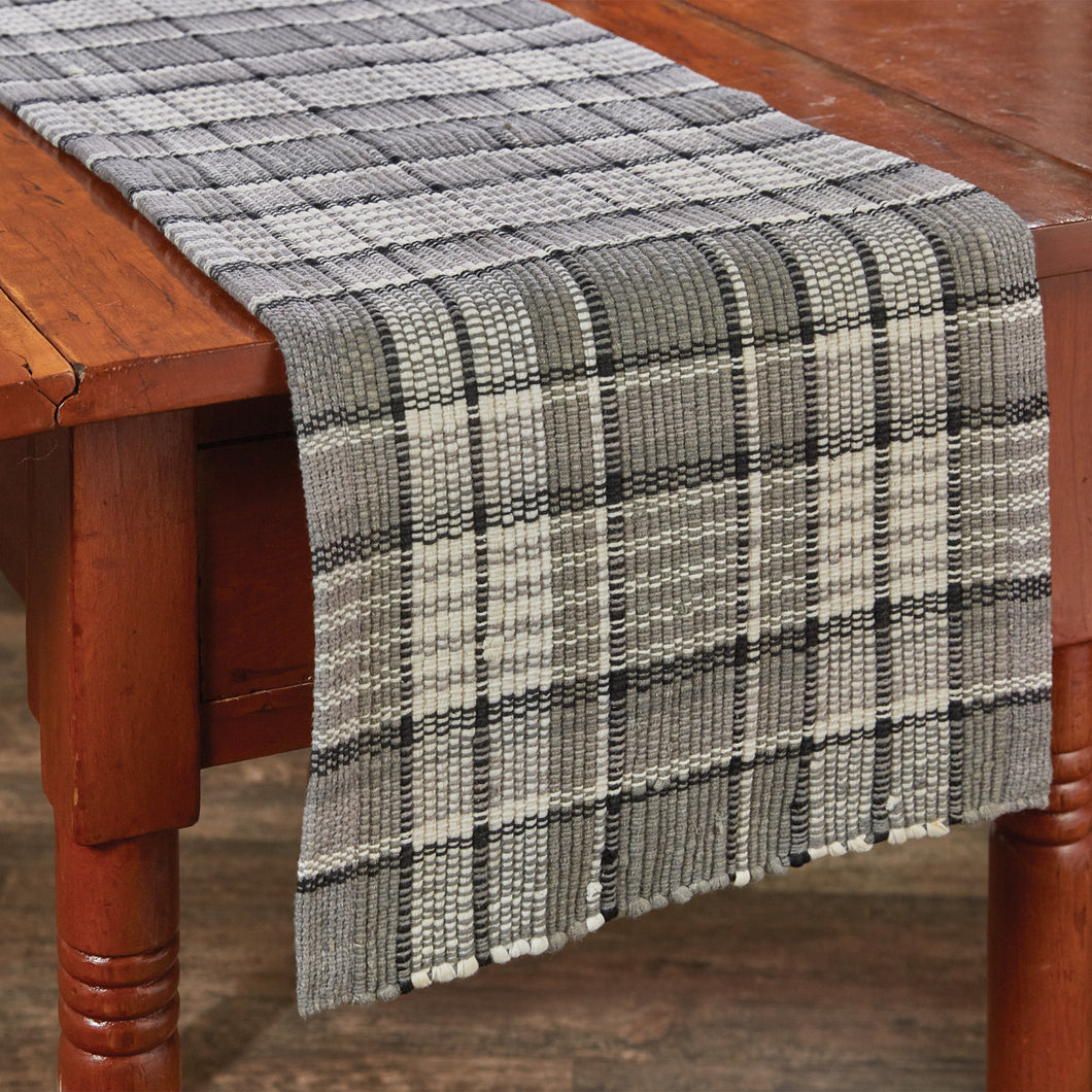 Grey Area Chindi Table Runner (Two Sizes Available)