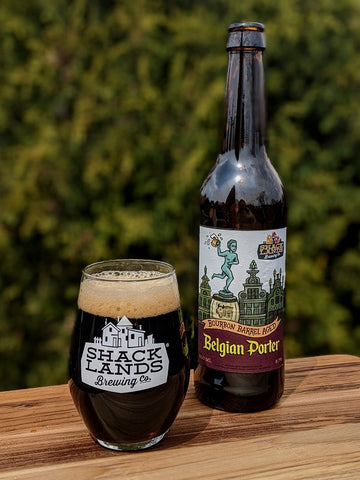 Shacklands Brewing Co. Bourbon Barrel Aged Belgian Porter