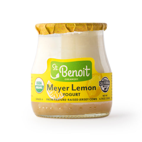 Organic Yogurt -  Meyer Lemon