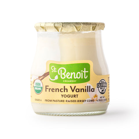 Organic Yogurt - French Vanilla