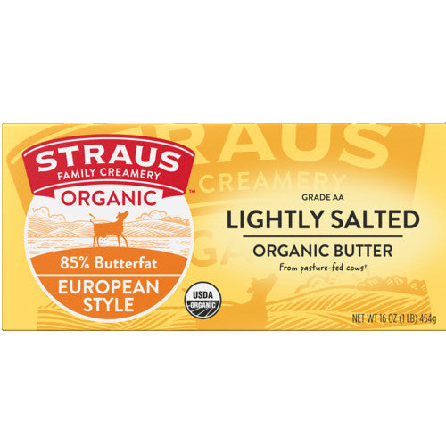 Organic Salted Sweet European Style Butter
