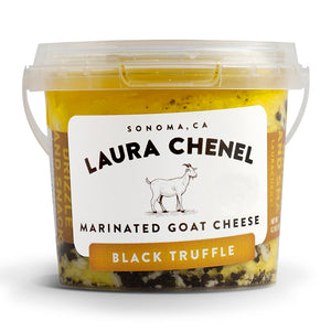 Marinated Goat Cheese - Black Truffle
