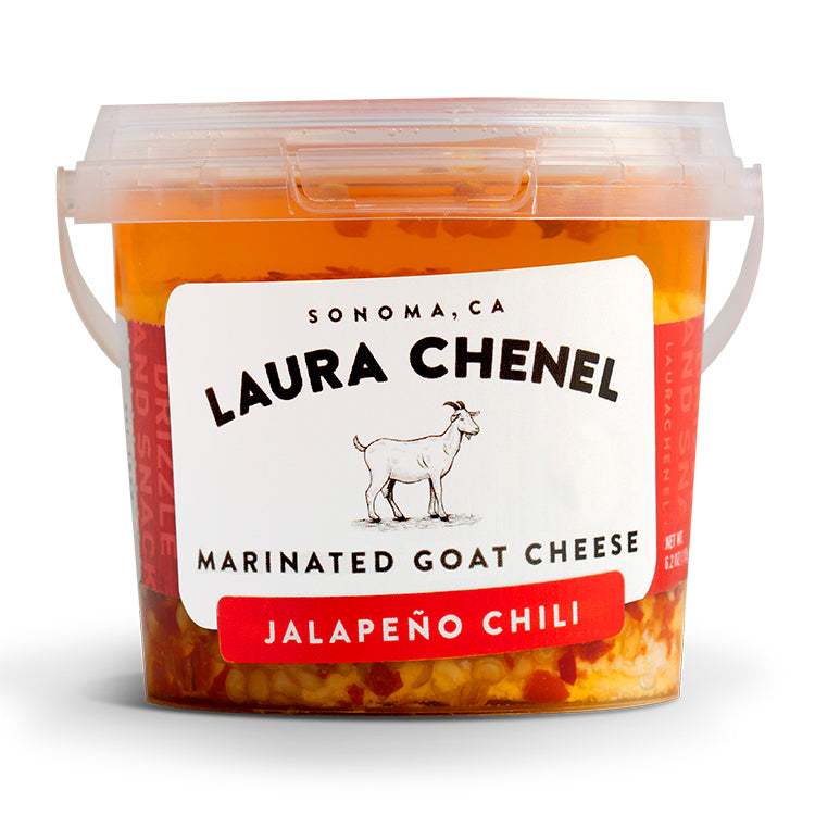 Marinated Goat Cheese - Jalapeño Chili