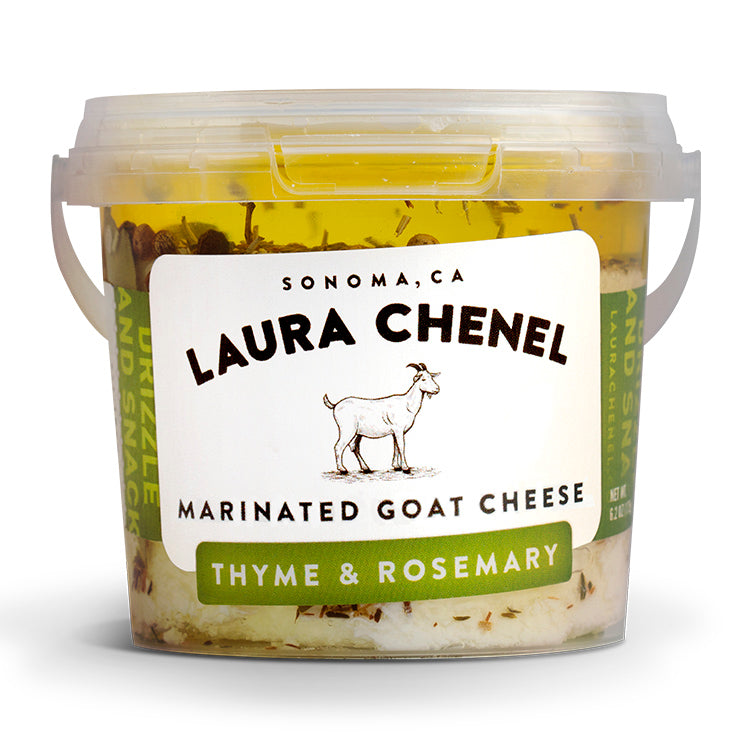Marinated Goat Cheese - Thyme & Rosemary