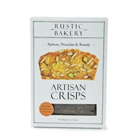 Crackers - Apricot, Pistachio, & Brandy Crisps