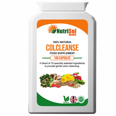 ColCleanse 10 Ingredient Blend 100 capsules - healtha-life
