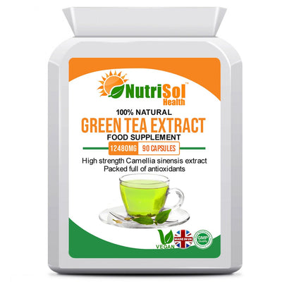 Green Tea Extract 12,480mg 90 Capsules - healtha-life