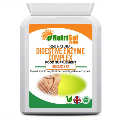Digestive Enzyme Complex 90 Capsules - healtha-life