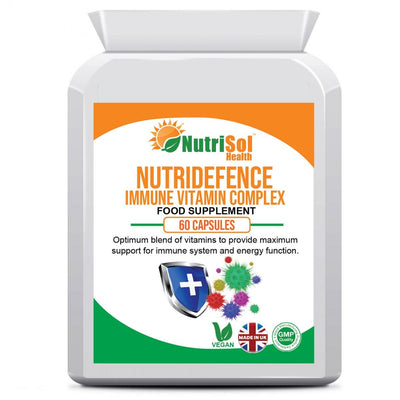 NutriDefence Immune Support Supplement 60 Capsules - healtha-life