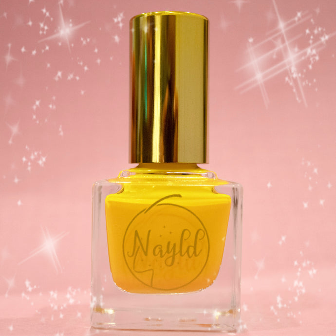 bright sunny walmart yellow vegan non toxic nail polish safe for kids and pregnancy, made without chemicals