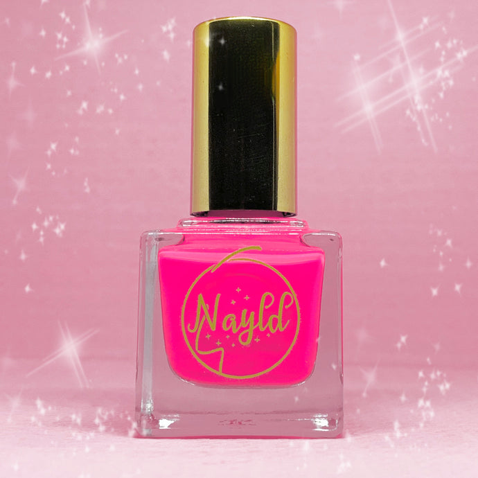 pink vegan nail polish with opi specs of glitter Vegan non toxic nail polish that is safe for kids and pregnancy, made without chemicals. Grow your nails & strengthen your nails. cruelty free,