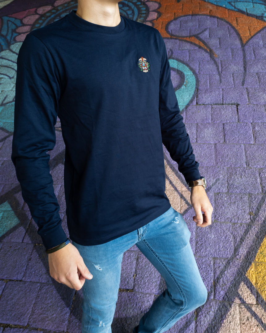 The Originals - Long-Sleeve French Navy