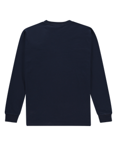 The Originals - Long-Sleeve French Navy-Tribal Globe