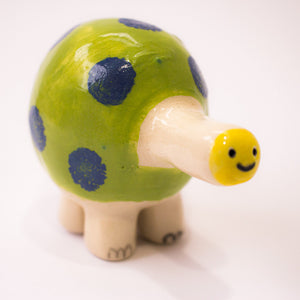 Weird Turtle / Ceramic Sculpture