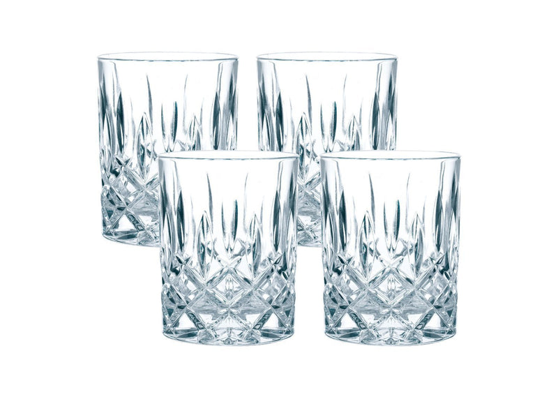 Nachtmann Noblesse Whisky Glass, Clear, Pack of 4