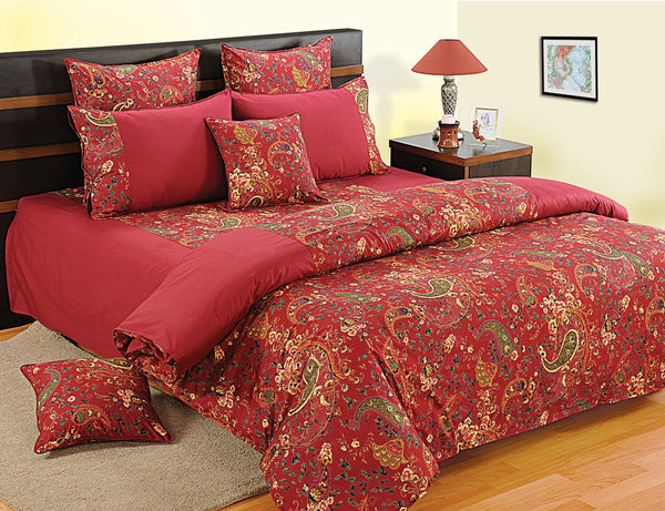Swayam Printed Single Bed Sheet Set