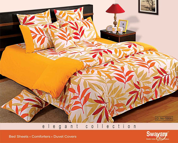 Swayam Printed Double Bed Sheet Set