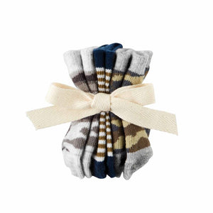baby 3 pair sock set-camo