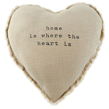 Load image into Gallery viewer, heart home pillow