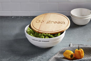 salad bowl with lid set