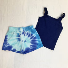 Load image into Gallery viewer, girls tie dye soft shorts