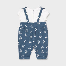 Load image into Gallery viewer, baby layered denim jumpsuit