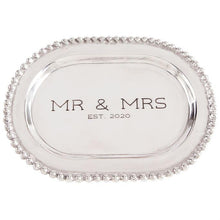 Load image into Gallery viewer, Mr & Mrs platter 2020