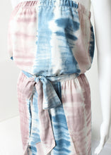 Load image into Gallery viewer, tie dye tulip leg jumpsuit