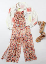 Load image into Gallery viewer, flowy print jumpsuit-girls