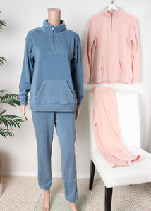 fleece burnout jogger