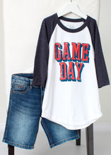 Load image into Gallery viewer, gameday raglan tee-boys