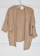 Load image into Gallery viewer, girls textured cardigan