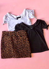 Load image into Gallery viewer, girls leopard corduroy skirt