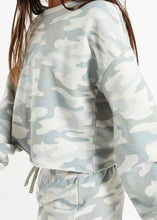 Load image into Gallery viewer, girls camo long sleeve top