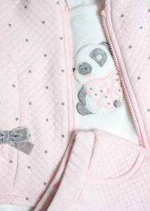 3 set dots tracksuit -baby